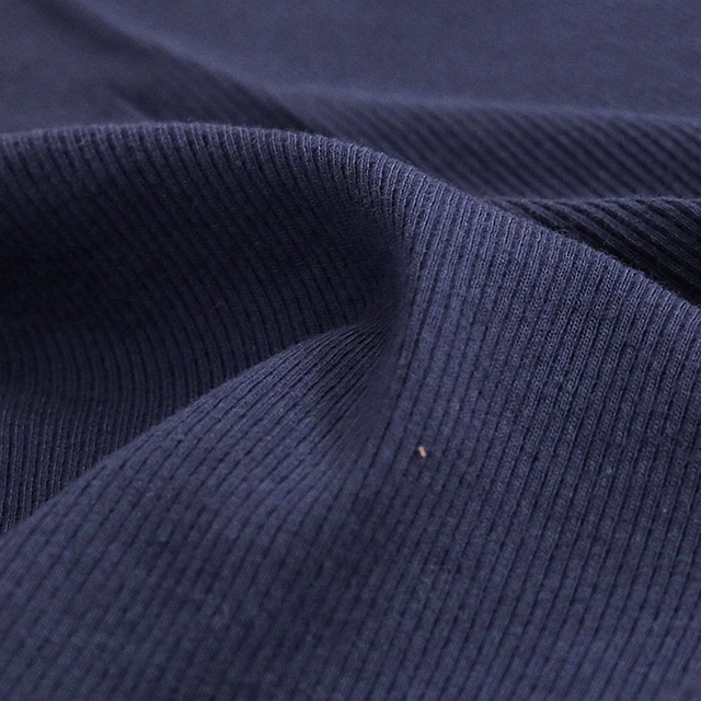 Thin Cotton Spandex Rib Fabric 160 Gsm For Summer T-Shirt And Tops Stretchy Jersey Cuff Fabric 0.25m/0.5m/Piece A0275 5