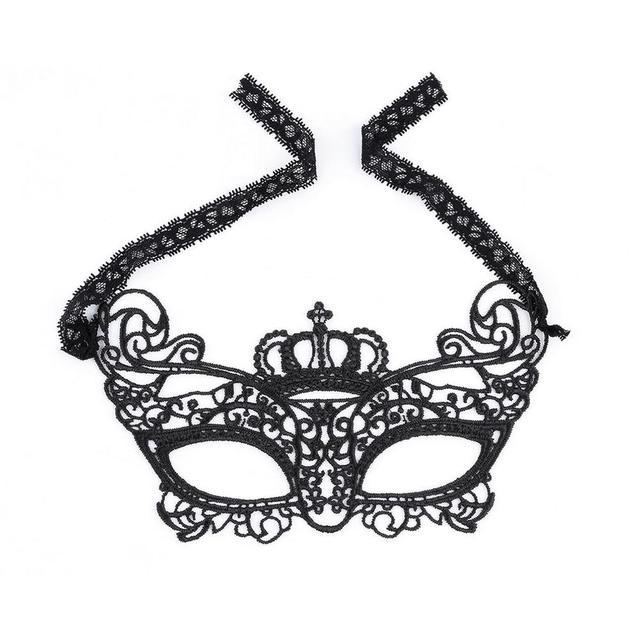 Sexy Black Lace Eye Mask Venetian Masquerade Fancy Dress Party Mask