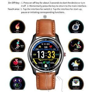 Image 5 - LYKRY MX9 ECG PPG 스마트 시계 혈압 심장 박동 모니터 남성 여성을위한 다국어 생활 방수 Smartwatch
