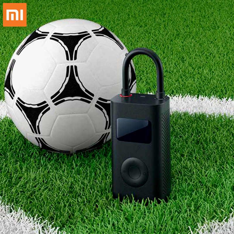 Nouveau Xiaomi pompe à Air électrique Mijia Portable gonfleur Rechargeable 150 PSI port USb détection de pression des pneus pour Football voiture vélo