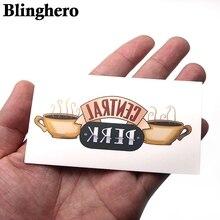 CA984 2шт друзей ТВ-шоу боди-арт временные татуировки наклейки передачи плече мужчины макияж косплей партии
