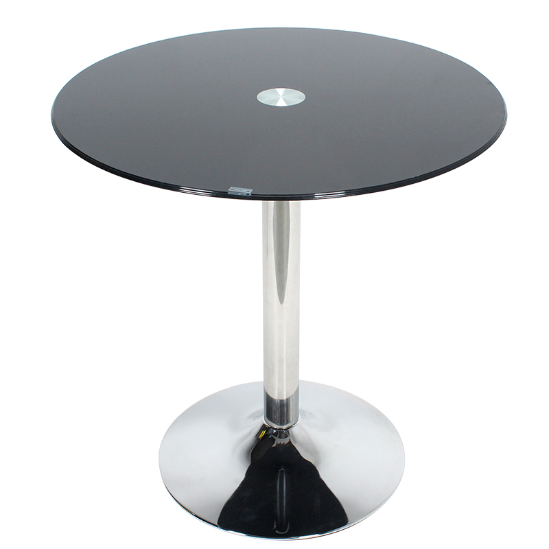 Tempered Glass Round Table, Small Huxing, Modern Simple Floating Window, Tea Table, Small Table, Economy And Fashion Table