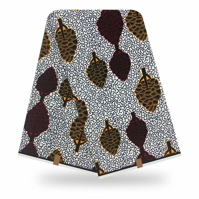 2020 Fashion Dashikiage Pagne Ankara Veritable Real Dutch Wax Cotton Fabric For Women Evening Dress Tissu Africain Motif Wax