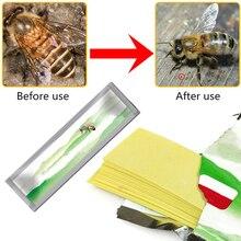 20 шт./пакет Varroa strip Fluvalinate, средство для лечения пчеловодства и борьбы с вредителями, садовый инструмент