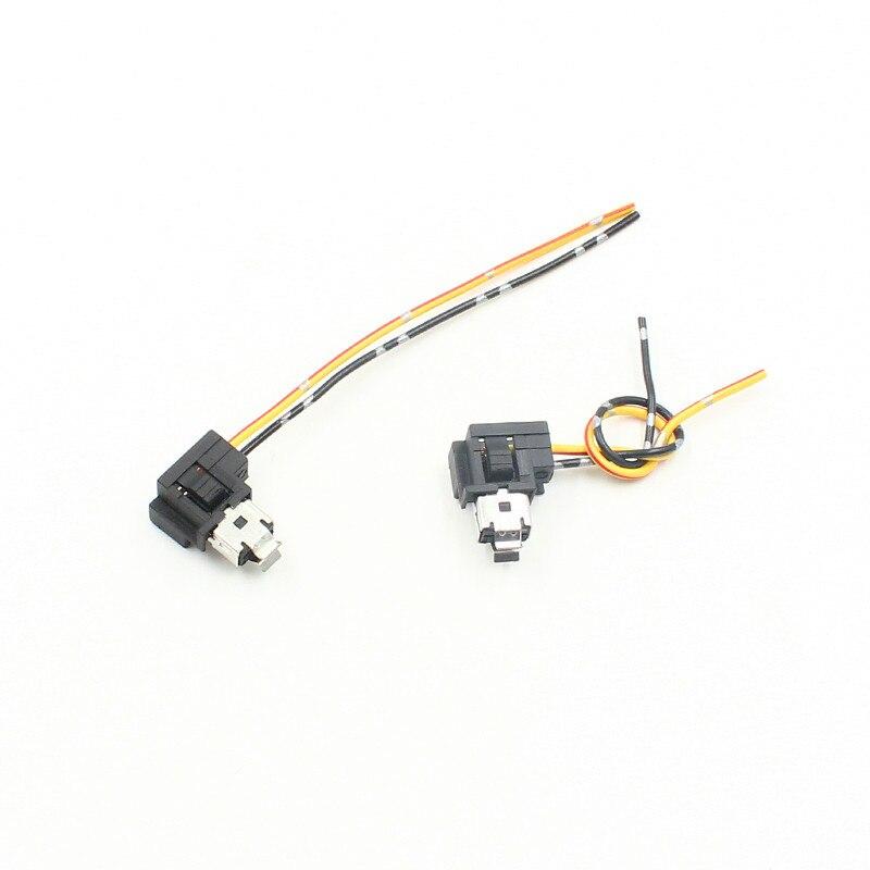 Rockeybright 2pcs h1 halogen bulb socket extension wire h1