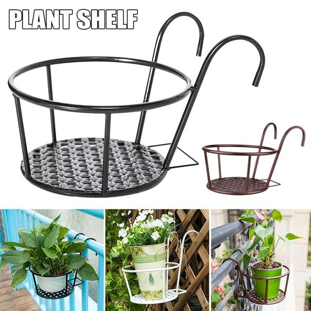 Nieuw Sterke Veelzijdige Lichtgewicht Geometrische Metalen Planten Stand Plant Plank Rack Voor Indoor