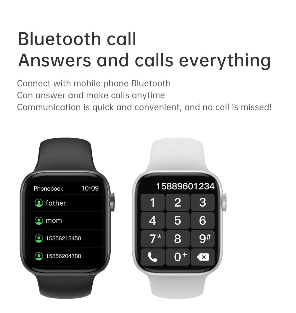 Hac8773b58b2b43a68685fe8f93ed99f9Y IWO 13 Pro T800 Smartwatch 2021 1.72 Inch Bluetooth Call DIY Dail Fitness Bracelet Smart Watch Men Women PK IWO W46 W56 Series 6