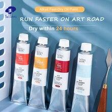Paul Rubens 170 ML Fast Dry Student Grade 40 Colors Aluminum Oil Paint Tube for Art Supplier