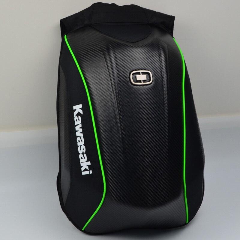 15 цветов для Kawasaki, мотоциклетные Твердые ракушки, рюкзаки для bmw, рюкзак для мотокросса из углеродного волокна, рюкзак для мотогонок, сумки д...