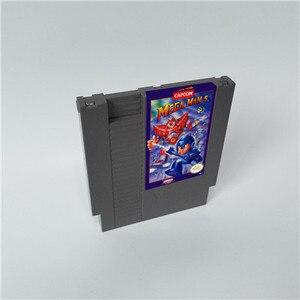 Image 5 - Mega Man 1 2 3 4 5 6 vardır 6 seçenekleri, her seçeneği sadece bir oyun Megaman   72 pins 8bit oyun kartuşu