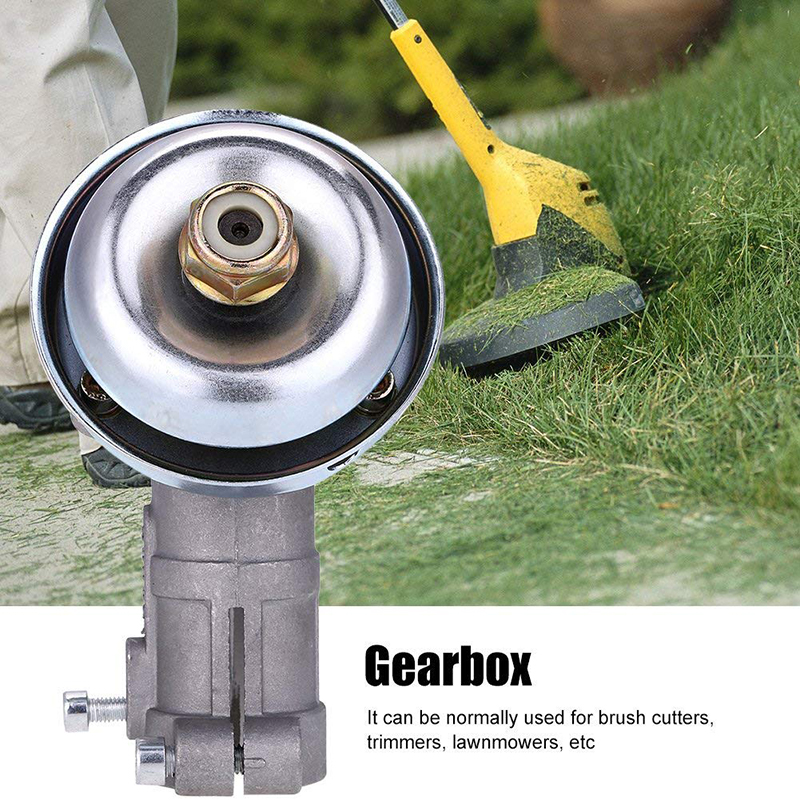 26mm Gearbox Head Grass Trimmer Replace Gearhead for Strimmer Lawn Mower Part