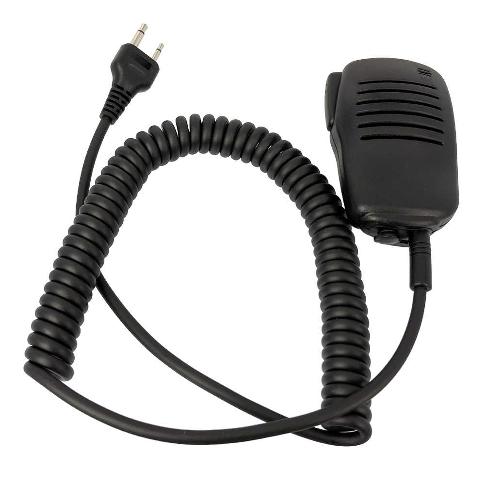 PTT портативный динамик/микрофон для ICOM IC-A2 IC-V80 IC-F3S Vertex VX-200 двухсторонняя рация