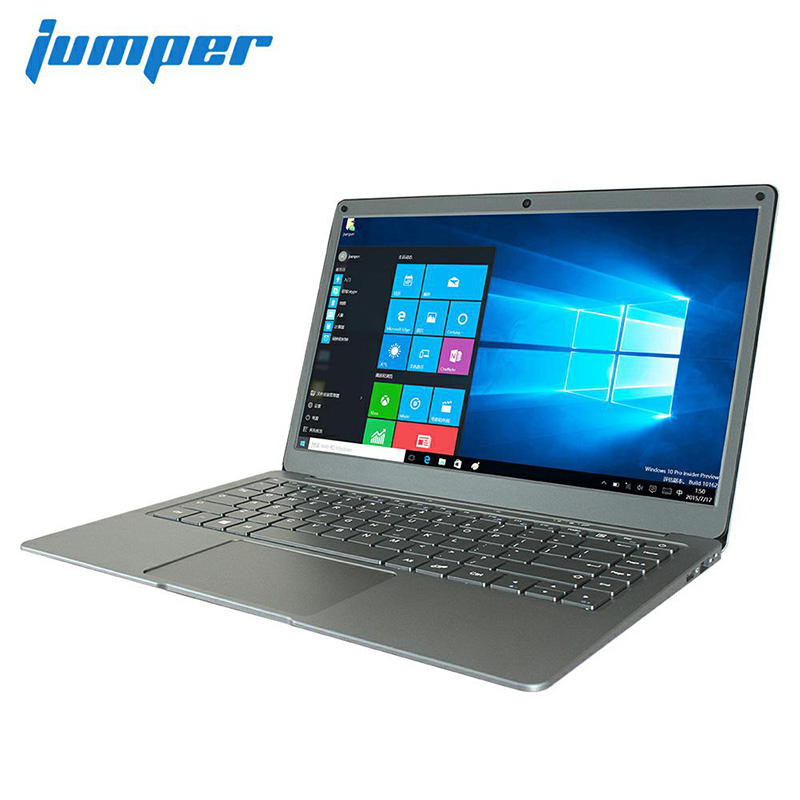Ноутбук Jumper EZbook X3, 13,3-дюймовый экран IPS, 6 ГБ 64 ГБ, eMMC, Intel Apollo Lake N3350, 2,4 ГГц/5 ГГц, Wi-Fi с M.2, разъем SATA для SSD-накопителя