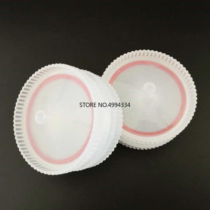 Free Shipping 10pcs/lot Reuseable 50mm Plastic Syringe Filter Holder For Membrane