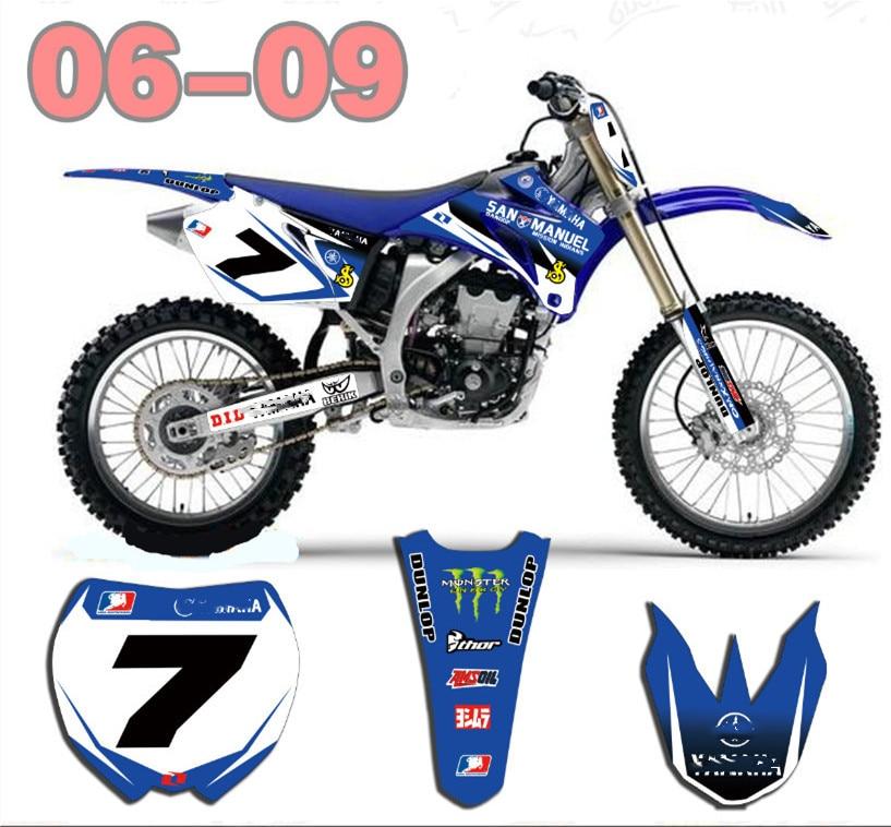 2005 AUSSIE PRIDE Full  Custom Graphic  Kit Yamaha YZ 125-2002