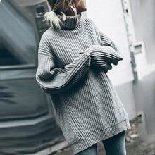 Korean Winter Womens New 2019 Twist Loose Long Sleeve Knit Sweater Cardigan Coat Thick Women Harajuku Cardigans