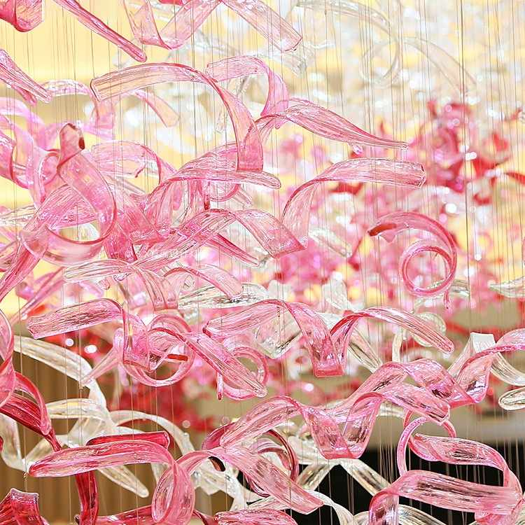 Departamento de ventas salón de belleza SPA pie baño lugar de ocio hotel vestíbulo sala de exposiciones sala de conferencias cristal lámpara colgante