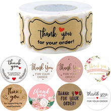 Thank You for Your Order Supporting My Business Stickers Seal Labels Turning One Favors Envelope Supplies Stationery Stickers