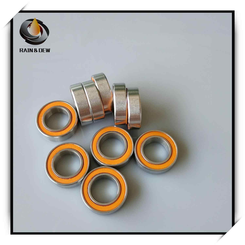 5x12x4 mm QTY 1 SMR125-2RS Hybrid Ceramic Ball Bearing Bearings ABEC-7