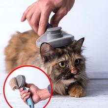 Tflag Pet tarak xiaomi Pet kedi saç temizleme fırçası tarak Pet bakım araçları saç dökülme giyotin tarak kediler için xiaomi mijia 47