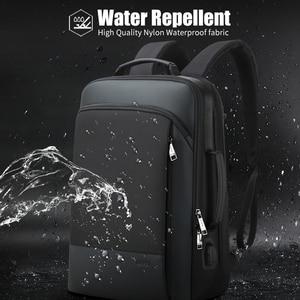 Image 5 - BOPAIกระเป๋าเป้สะพายหลังขยายWeekendทำงานเดินทางกลับPackชายกันน้ำ15.6นิ้วแล็ปท็อปป้องกันการโจรกรรมธุรกิจBackpacking