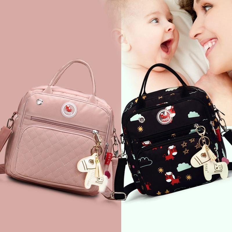 Mom Diaper Bag Waterproof Nylon Baby Nappy Bag Women Travel Backpakc For Baby Nursing Maternity Bag Bolsa Maternidade 9 Colors