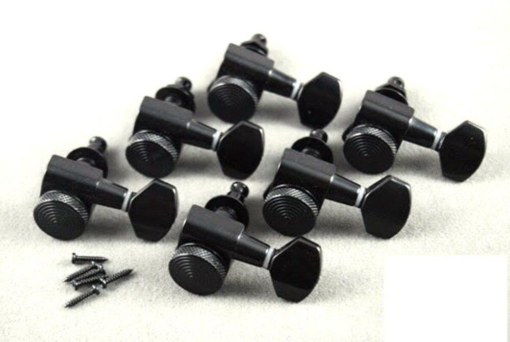 Wilkinson 6R noir accordeurs de verrouillage de guitare JN-07 SP Lock convient à la télé