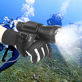 Hand Free Holder Glove for Scuba Diving Dive Underwater Torch LED Flashlight Outdoor Water Sports Accessories 1