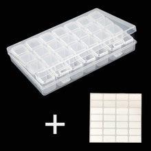 28 сеток алмазная живопись коробка для ювелирных изделий 5d