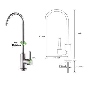 Image 5 - Кран для питьевой воды, обратный осмос, нержавеющая сталь 304