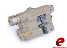 Z TAC LA 5 UHP Görünüm Sürüm Kırmızı Nokta Lazer gece çekim mikro LED el feneri EX396 DE