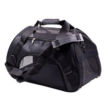 Dog Bag Pet Carrier per I Cani Gatto Gabbia Pieghevole Borsa per Il Trasporto Sacchetti di Animali Domestici Forniture Sac De Trasporto Versare Chien Gatto carrier(China)