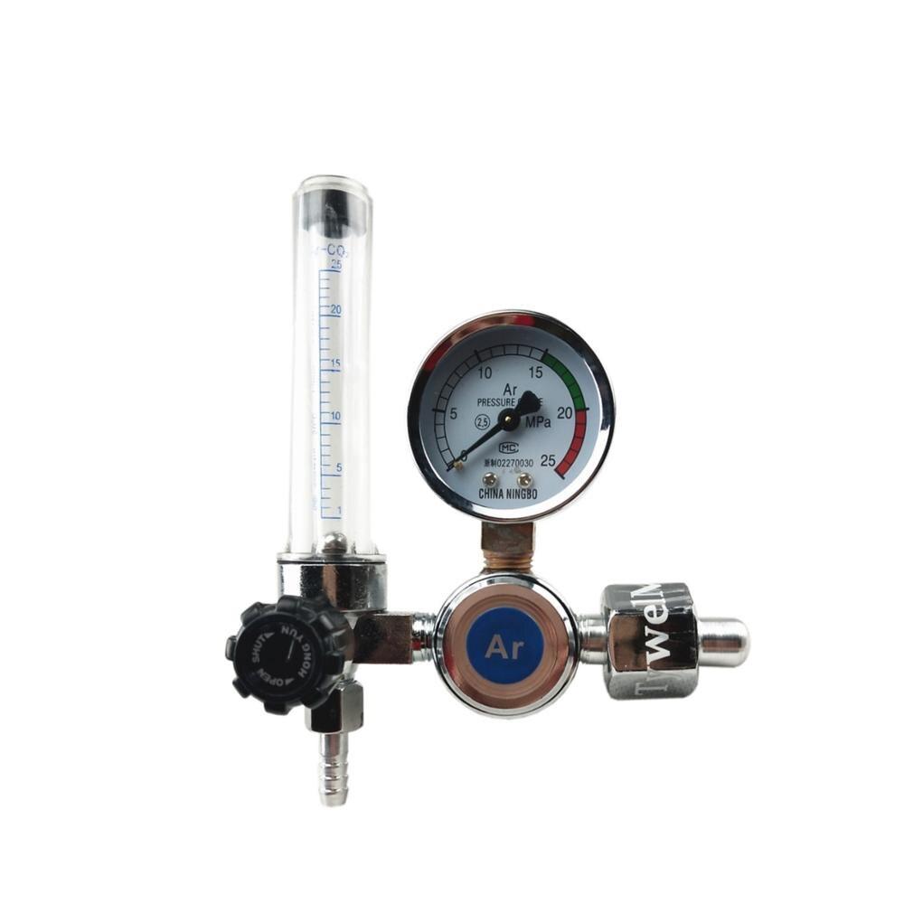 Regulator argonu, 0-25 Mpa, manometr, Argon, CO2, helu, azotu przepływomierz, G5/8 wlot, MIG spawanie tig Regulator