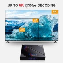 Hot Koop Simple Blijvende Set Top Box H96 Max H616 2Gb/4Gb 16G/32gb/64Gb BT4.0 Wifi Media Player Smart Tv Set Top Box