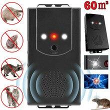 Répulsif Anti-rat 12V, répulsif de souris ultrasonique pour voiture, chasse, accessoires de voiture