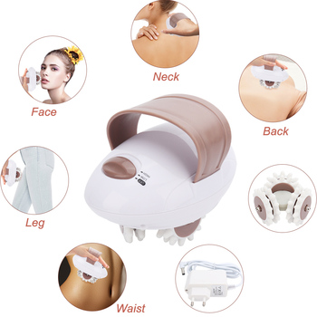 Weight Loss 3D Electric Full Body Slimming Massager Roller For Fat Burning Anti-Cellulite Relieve Tension Massage Health Care portable size electric 3d full body massager roller powerful anti cellulite body slimming burn fat loss weight machine