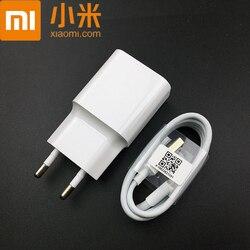 Véritable xiaomi redmi note 6 EU chargeur adaptateur secteur chargeur Micro Usb câble pour redmi note 5 plus 6 pro 4x 6a 5a 4a s2 4 3 2 mi