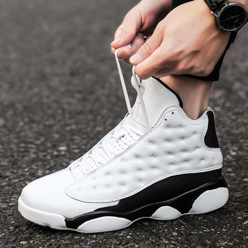 Plus Size 45 Retro Bakset Homme 2019 New Brand Men Basketball Shoes For Sneakers Mens Fitness Gym Sport Shoes Male Jordan Shoes