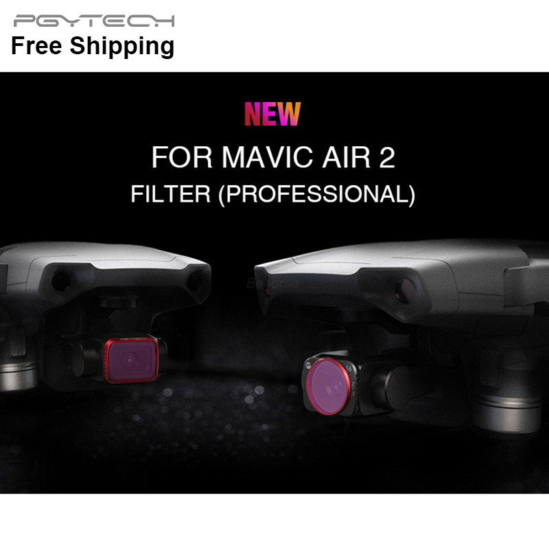 Professional UV CPL ND ND-PL Camera Lens Filters Set for DJI Mavic Air 2 Drone