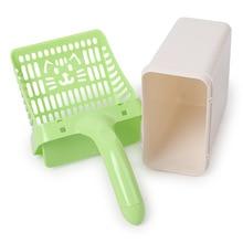 Cat-Litter-Shovel Scoop Toilet Pet-Cleanning-Tool Novelty Plastic for Dog-Food-Spoons