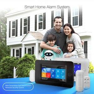 Image 2 - 3G GSM WIFI Sistema di Allarme di Sicurezza di controllo app Smart Home, Casa Intelligente GPRS SENZA FILI 433MHz Kit Allarme Con SENSORE PIR Siren sensore porta e RFID