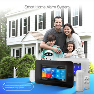 Image 2 - 3G Gsm Wifi Draadloze 433Mhz Alarmsysteem App Controle Smart Home Alle Touch Screen Smartlife Gprs Draadloze alarm Kits