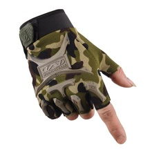 Tactical Gloves Men Military Half Finger Hard Knuckle for Shooting Fighting Airsoft Motorcycle Outdoor Protection