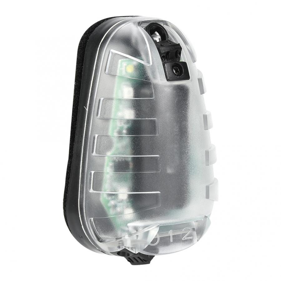 Casques polyvalents lumière stroboscopique étanche coccinelle lampe tactiques survie sécurité IR Flash lumière pour les outils de survie en plein air