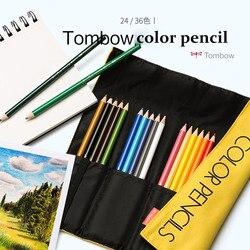 TUNACOCO 24/36 kolory TOMBOW kolorowe kredki akwarela rainbow oil pencil prismacol zestaw polychromos cute art pencil bb1710191