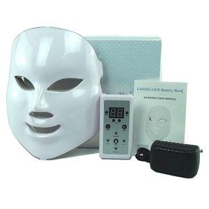 Image 5 - Mascarilla Facial con fotones LED para el cuidado de la piel, rejuvenecimiento, eliminación de arrugas y acné, 7 colores