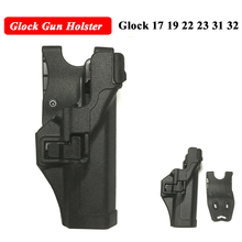 Glock Gun Holster Tactical Case For 17 19 22 23 31 32 Hand Accessories Right Quick Drop Belt