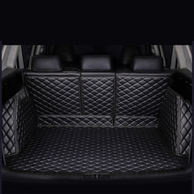 Custom car mats bagagliaio di un'auto per Jeep tutti i modelli wrangler compass patriot Grand Cherokee Cherokee Renegade car styling accessori(China)