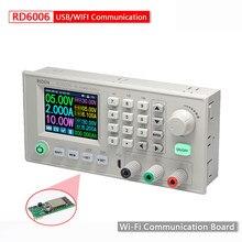 Alimentation RD6006/RD6006W USB DC-DC tension courant abaisseur Module d'alimentation Buck tension convertisseur voltmètre 60V 5A