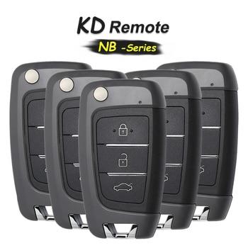 KEYECU 5x NB-Series 3 Button NB25 Remote Control, Universal Remote Control Key for KD900 KD900+ URG200+ KD-X2 NB25